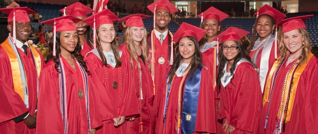 CHISD Education Foundation 2014 grads