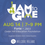 Jam to give Cedar Hill Education Foundation
